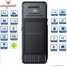 3G, GPS, WiFi,Bluetooth ,android ,handheld pos terminal