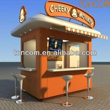 outdoor kiosk for food