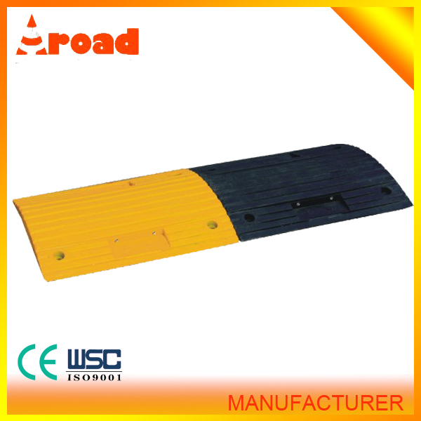 durable Rubber Speed Bump Road of Salt Containers with factory price