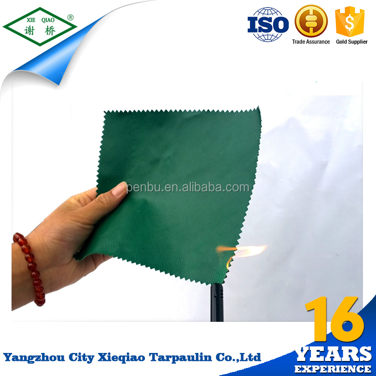 2016 Factory Price superior quality red pvc tarpaulin bulk products from china