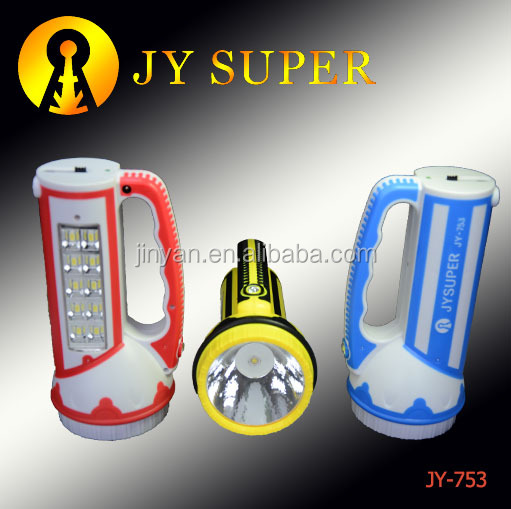 JYSUPER RECHARGEABLE LED CAMPING lamp (JY-753)