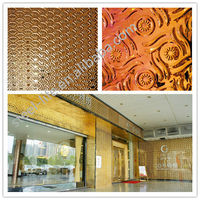 Good quality construction material stainless steel covering interior decor wall panel for hotel & KTV room