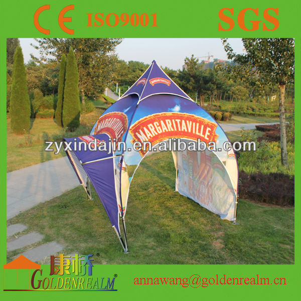 2016 Creative design waterproof dome tent for party arch tent advertising trade show pavilion