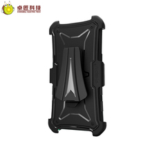 Military grade holster belt clip case for samsung galaxy note 8 case hybrid tpu pc case cover