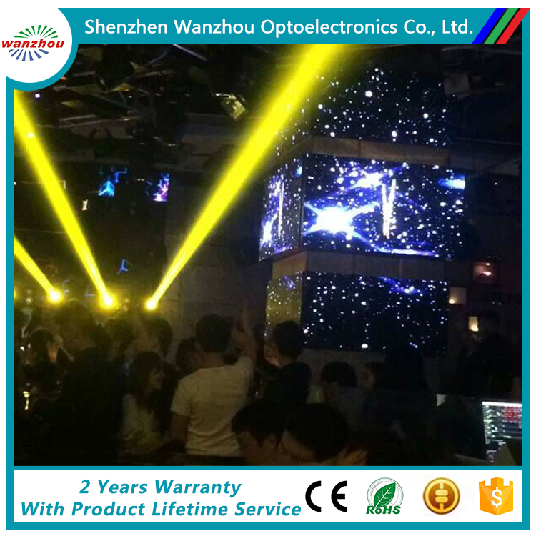 P6 Dj stage indoor LED display screen