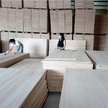 Dry Edge Glued Paulownia Timber Wood Panels Boards for Sale