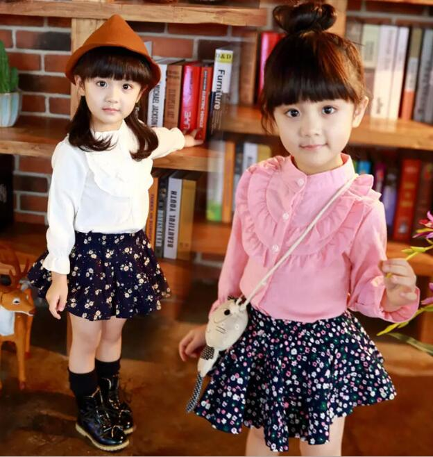 zm32563a latest fashion girls cotton blouse designs stock clothes for kids