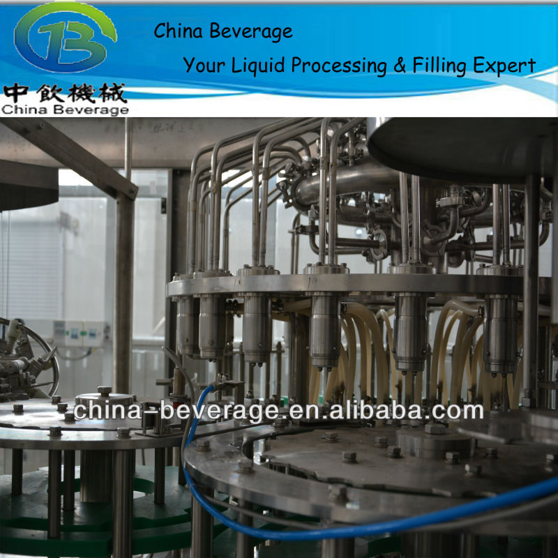 fine workmanship for soft drink filling machinery