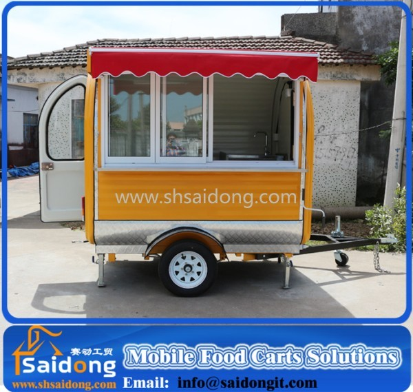 Restaurant australia for coffee food cart designer fast Outdoor Food Vans Selling Food Truck For Sale
