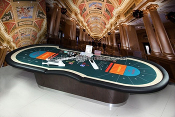 14 player Luxury baccarat table