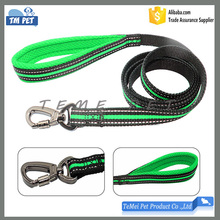 High quality durable pet products soft padded handle dog leash