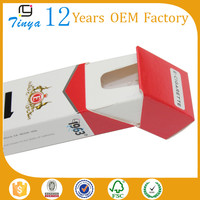high quality custom paper cigarette pack cover