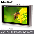 Small mini 5.5 inch camera top field display waveform 1080p lcd monitor for movie shooting photography