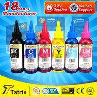 Bottle ink refill for canon printer/ 100ml bulk ink/ refillable cartridge ink for Epson L800 UV Resistant