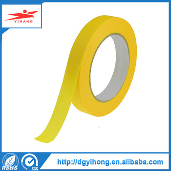 Single Sided Adhesive Side and paper Material decorative masking tape