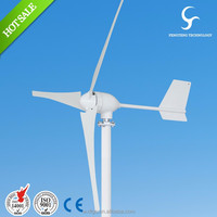 China 600w 24 / 48v high efficient low speed small wind turbine on sale