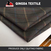 2015 New checks design GARMENT suiting fabric,Trousers tr suiting fabric jacket Use suit material tr fabric