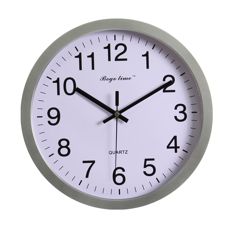 12 inch plastic DCF radio controlled atomic wall clock