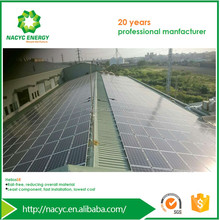 Solar Panel System For Roof Aluminum Mount System