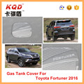Chrome plastic accessories for 2016 fortuner oil tank cover for cars fortuner oil tank cover for cars fortuner