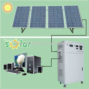 solar long time working power system for family (JR-360W)