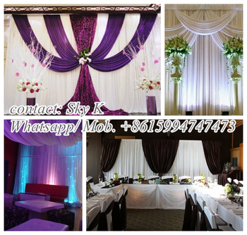 Fabric Buy Stage Decoration Backdrop Fabric Wedding Decorations