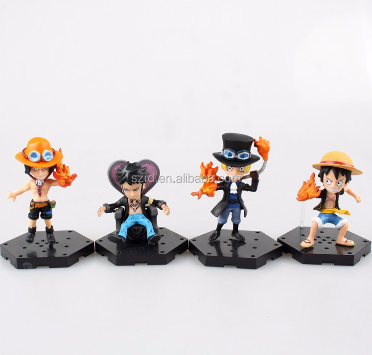 figure toys action figure/one piece anime figures/small plastic figures