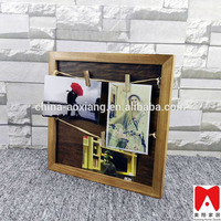 China factory price cheap funny antique colorful wooden collage photo frame digital photo frame