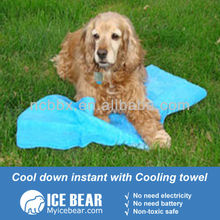 ice cold towel for pets