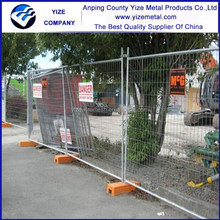 Temporary Site Security Fencing / Fence / Metal material / metal feet / metal clamp export to New Zealand , Canada , Australia