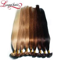Factory Direct Sale 100 Cheap Ombre Remy U Tip Keratin Human Hair Extension Wholesale
