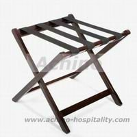 Durable Wooden Hotel Luggage Rack