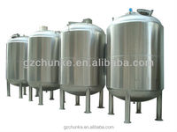 Stainless steel water pressure vessel tank price/Stainless steel insulated water tank