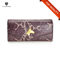 Snap Closure Trend Genuine Leather Women Wallet Bag/Money Wallet