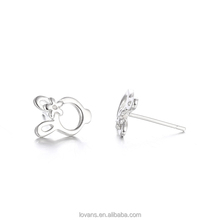 Rabbit Earring Silver Imitation Jewellery Hyderabad SEB132W