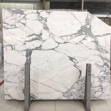 HS-W009 absolute makrana nanao Snow Flower White marble price