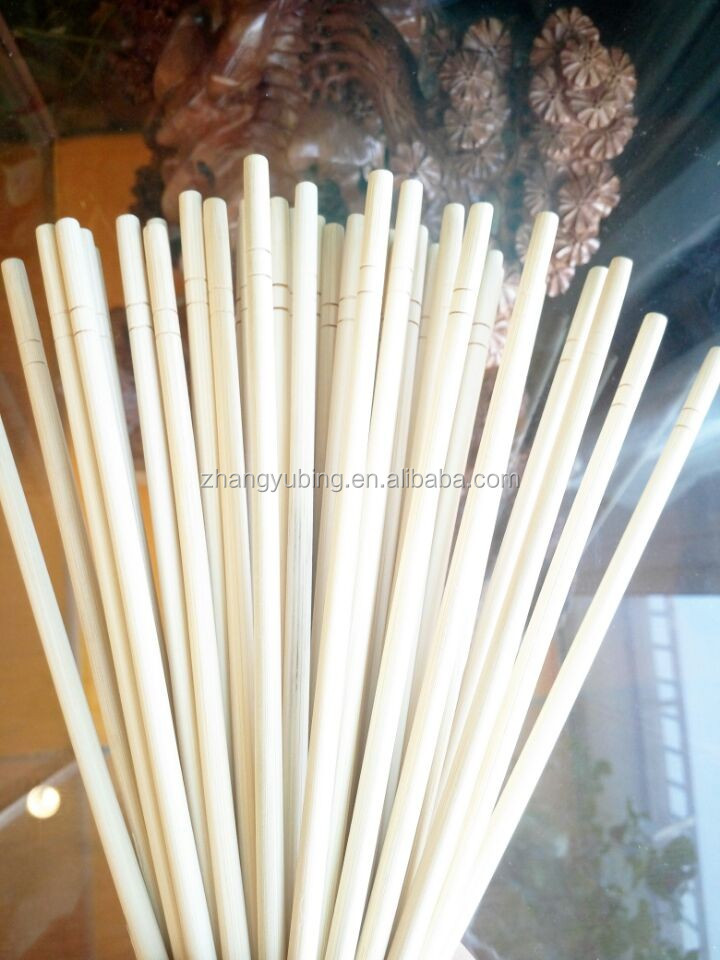 ecofriendly disposable individual round bamboo wood chopstick