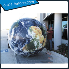 Beautiful LED the earth model/inflatable Global hanging balloon for sale