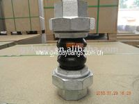 Thread-connection nbr rubber expansion joint