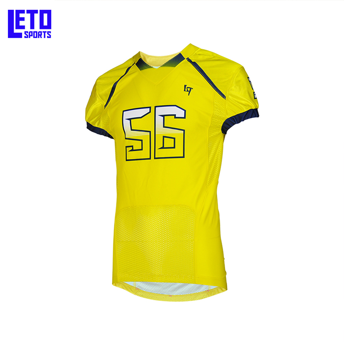custom American football jersey, flag football jersey sublimation print