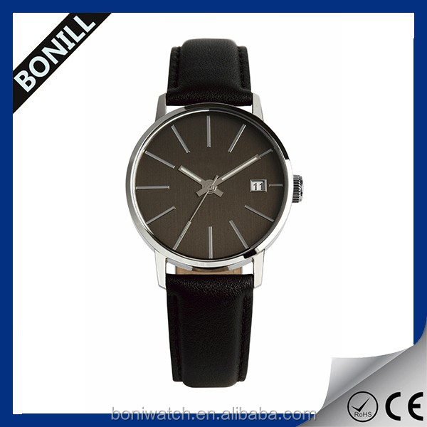 Own brand watch unisex stainless steel famous brand name watch