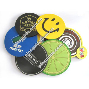 Promotion Various Cute Home Decoration Stocking Customized 30mm Round Beer Mat Coaster
