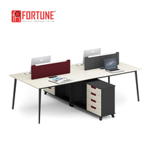 New design for 2 person desk furniture models of office computer desk with locking drawers