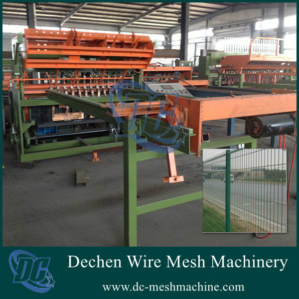 Anping manufacturer 3-6mm fence mesh used wire mesh welding machines and equipment(2016 new product)