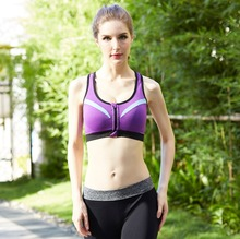 Facoty Cheap Price Wholesale Girl's Zipped Sexy Bra,Sports Bra Wholesale