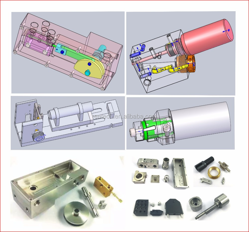 Provide customzied mechanical parts with good quality