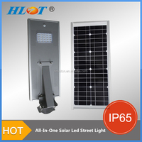 15w outdoor all in one solar street led light
