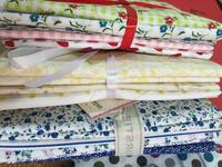 fat quarters cotton print fabric