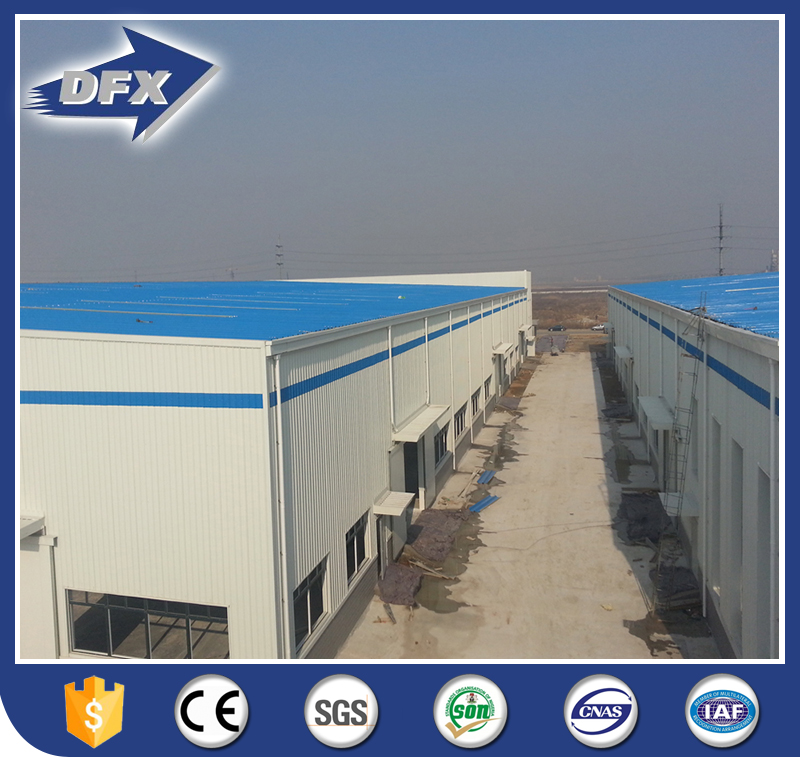 Pre-engineered Low Cost Steel Structure Warehouse Building