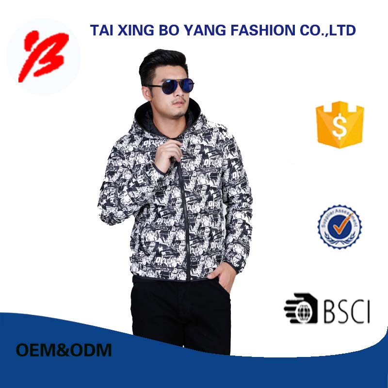 portable down coat men sale with best quality and low price